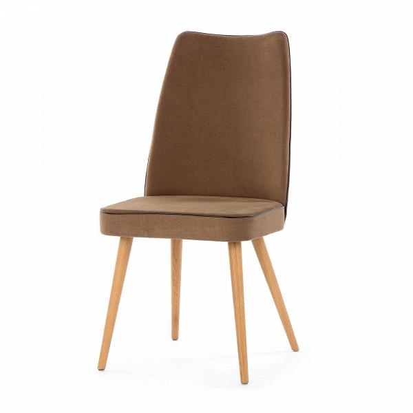 Стул Lounge HighИнтерьерные<br>Дизайнерский мягкий стул Lounge High (Лаундж Хайт) с высокой спинкой на деревянных ножках от Cosmo (Космо).<br><br> Стул Lounge High — это удобный, простой и одновременно оригинальный и необычный предмет интерьера, который открывает новые возможности ввиду своей универсальности. Стул прекрасно впишется в спокойный, мягкий, тихий и уютный интерьер кафе, ресторана или же прекрасно будет смотреться в гостиной возле обеденного стола. <br><br><br>     Основание выполнено из натурального ореха, а само сидень...<br><br>stock: 9<br>Высота: 93<br>Высота сиденья: 46<br>Ширина: 47<br>Глубина: 57<br>Цвет ножек: Дуб<br>Материал ножек: Массив дуба<br>Материал сидения: Хлопок, Лен<br>Цвет сидения: Коричневый<br>Тип материала сидения: Ткань<br>Коллекция ткани: Ray Fabric<br>Тип материала ножек: Дерево