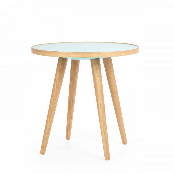 Кофейный стол Sputnik высота 40 диаметр 41Кофейные столики<br>Простые иВчистые линии, интегрированные вВваш интерьер. Классическая столешница вВформе круга добавляет красоты иВизящества этому столу, который сочетается с разнообразными вариантами интерьерных стилей иВможет быть использован как вВдомах, так иВофисах. Четыре ножки отВстола вкручиваются вВстолешницу без специальных инструментов.<br><br><br> Кофейный стол Sputnik высота 40 диаметр 41, творение американского дизайнера с мировым именем Шона Дикса, обл...<br><br>stock: 1<br>Высота: 40<br>Диаметр: 40,6<br>Цвет ножек: Белый дуб<br>Цвет столешницы: Голубой<br>Материал ножек: Массив дуба<br>Тип материала столешницы: Пластик<br>Тип материала ножек: Дерево<br>Дизайнер: Sean Dix