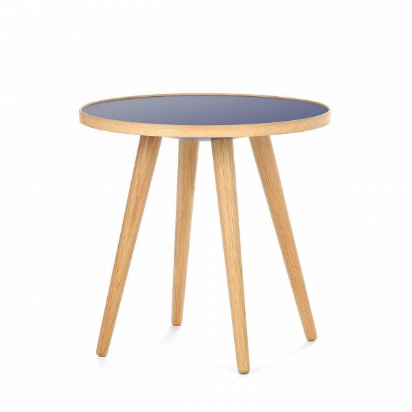 Кофейный стол Sputnik высота 40 диаметр 41Кофейные столики<br>Простые иВчистые линии, интегрированные вВваш интерьер. Классическая столешница вВформе круга добавляет красоты иВизящества этому столу, который сочетается с разнообразными вариантами интерьерных стилей иВможет быть использован как вВдомах, так иВофисах. Четыре ножки отВстола вкручиваются вВстолешницу без специальных инструментов.<br><br><br> Кофейный стол Sputnik высота 40 диаметр 41, творение американского дизайнера с мировым именем Шона Дикса, обл...<br><br>stock: 4<br>Высота: 40<br>Диаметр: 40,6<br>Цвет ножек: Белый дуб<br>Цвет столешницы: Синий<br>Материал ножек: Массив дуба<br>Тип материала столешницы: Пластик<br>Тип материала ножек: Дерево<br>Дизайнер: Sean Dix