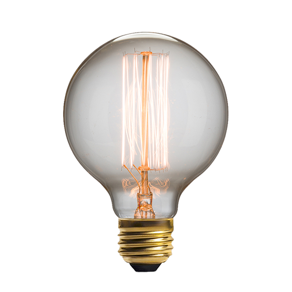 Винтажная лампа Эдисон Squirrel Cage (G95) 19 нитей от Cosmorelax