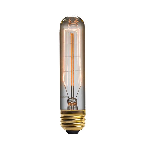 Винтажная лампа Эдисон Tubular Hairpin (T9) 8 нитей