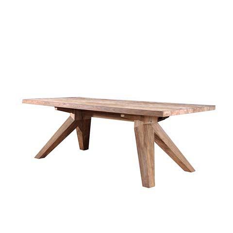 Стол VIRGINIA (7DTVIRG220100075)Обеденные<br>ROOMERS – это особенная коллекция, воплощение всего самого лучшего, модного и новаторского в мире дизайнерской мебели, предметов декора и стильных аксессуаров.<br><br>Интерьерные решения от ROOMERS в буквальном смысле не имеют границ. Мебель, предметы декора, светильники и аксессуары тщательно отбираются по всему миру – в последних коллекциях знаменитых дизайнеров и культовых брендов, среди искусных работ hand-made мастеров Европы и Юго-Восточной Азии во время большого и увлекательного путешествия,...<br><br>stock: 2<br>Высота: 75<br>Ширина: 100<br>Материал: массив тикового дерева<br>Цвет: Indoor grey<br>Длина: 220