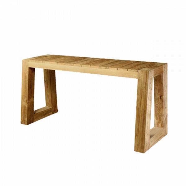 Консоль BELLA (7CSBL090040075)Консоли<br>ROOMERS – это особенная коллекция, воплощение всего самого лучшего, модного и новаторского в мире дизайнерской мебели, предметов декора и стильных аксессуаров.<br><br>Интерьерные решения от ROOMERS в буквальном смысле не имеют границ. Мебель, предметы декора, светильники и аксессуары тщательно отбираются по всему миру – в последних коллекциях знаменитых дизайнеров и культовых брендов, среди искусных работ hand-made мастеров Европы и Юго-Восточной Азии во время большого и увлекательного путешествия,...<br><br>stock: 2<br>Высота: 75<br>Ширина: 50<br>Материал: массив тикового дерева<br>Цвет: Natural grey<br>Длина: 90