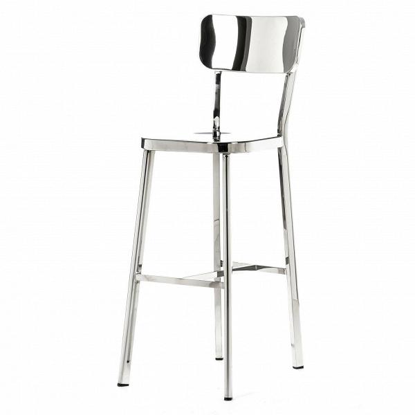 Барный стул Deja-vuБарные<br>Для того чтобы охарактеризовать интерьер стиля хай-тек или функционального конструктивизма, достаточно упомянуть сталь, геометрию, практичность и зеркальный блеск. Японский дизайнер Наото Фукасава сумел виртуозно объединить эти понятия в серии стульев.<br><br><br> Одна из его работ — барный стул Deja-vu. Длинные ножки из полированной стальной трубки с защитными колпачками на концах элегантно удерживают сидение и перекликаются по стилистике с другой иконой дизайна — линейкой Navy от компании Em...<br><br>stock: 0<br>Высота: 113<br>Высота сиденья: 74<br>Ширина: 42<br>Глубина: 53<br>Тип материала каркаса: Сталь нержавеющя<br>Цвет каркаса: Хром<br>Дизайнер: Naoto Fukasawa