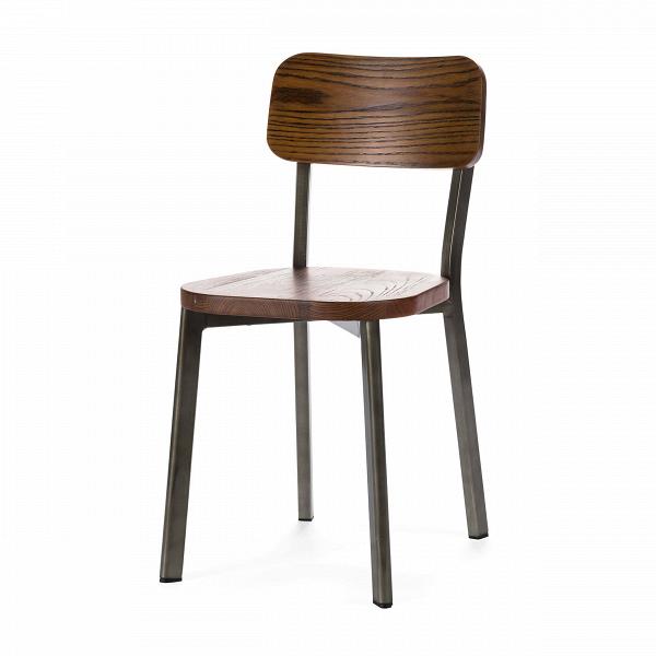 Стул Deja-vu деревянныйИнтерьерные<br>Наото Фукасава, японский дизайнер-минималист, прославил на весь мир уникальное творение своей фантазии — стул Deja-vu, изготовленный исключительно из нержавеющей стали с глянцевым блеском серебра. Как и все работы мастера, стул обладает простыми формами и поразительной практичностью.<br><br><br> Перед нами модель легендарного стула, но в новом исполнении. Стальная конструкция из четырех ножек может быть окрашена в белый или темно-серый цвет. Антискользящие защитные насадки повышают надежность ...<br><br>stock: 0<br>Высота: 80<br>Ширина: 40<br>Глубина: 47<br>Тип материала каркаса: Сталь<br>Материал сидения: Массив ивы<br>Цвет сидения: Темно-коричневый<br>Тип материала сидения: Дерево<br>Цвет каркаса: Бронза пушечная<br>Дизайнер: Naoto Fukasawa