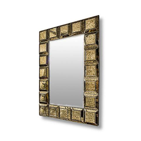 Зеркало Сохо (70-04000007)Настенные<br>ROOMERS – это особенная коллекция, воплощение всего самого лучшего, модного и новаторского в мире дизайнерской мебели, предметов декора и стильных аксессуаров.<br>Интерьерные решения от ROOMERS – всегда актуальны, более того, они - на острие моды. Коллекции ROOMERS тщательно отбираются и обновляются дважды в год специально для вас.<br><br>stock: 1<br>Высота: 140<br>Ширина: 12<br>Материал: металл, стекло<br>Цвет: patinning mirror<br>Длина: 100<br>Ширина: 12<br>Высота: 140<br>Длина: 100