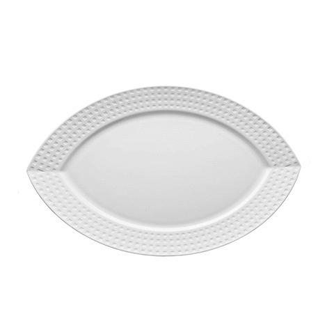 Блюдо овальное  (S0460/52437)Посуда<br>Фарфоровая посуда бренда Chef&amp;Sommelier (Франция) - новинка от компании ARC Int. на российском рынке. Она предназначена для заведений высокой ценовой категории, ресторанов Fine Dining, отелей премиум - класса. Посуда изготавливается по уникальной технологии из фарфора Maxima. Это запатентованный материал, отличающийся повышенной механической прочностью. имеющий нежный молочный оттенок. В концепцию дизайна заложена мировая тенденция на смешение стилей, форм и материалов. Поверхность изделий ук...<br><br>stock: 7<br>Материал: Фарфор<br>Цвет: White<br>Диаметр: 35<br>Диаметр: 35