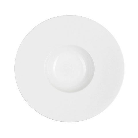 Тарелка  (S0712)Посуда<br>Фарфоровая посуда бренда Chef&amp;Sommelier (Франция) - новинка от компании ARC Int. на российском рынке. Она предназначена для заведений высокой ценовой категории, ресторанов Fine Dining, отелей премиум - класса. Посуда изготавливается по уникальной технологии из фарфора Maxima. Это запатентованный материал, отличающийся повышенной механической прочностью. имеющий нежный молочный оттенок. В концепцию дизайна заложена мировая тенденция на смешение стилей, форм и материалов. Поверхность изделий ук...<br><br>stock: 20<br>Материал: Фарфор<br>Цвет: White<br>Диаметр: 31<br>Диаметр: 31