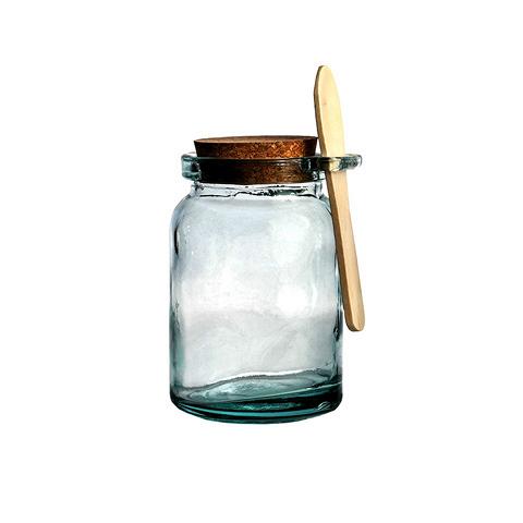 Банка (5139)Посуда<br>San Miguel (Испания) – это мощнейшая компания, которая занимается производством очень качественной и оригинальной продукции из переработанного стекла. Vidrios San Miguel известный бренд во всем мире. В наши дни, Vidrios San Miguel имеет более чем 25 000 торговых точек. Vidrios San Miguel занимается производством стеклянных изделий: посуда, бутылки, вазы, сувениры, украшения и многое другое. Основной экспорт происходит в страны: западной и восточной Европы, Америки, Азии и Африки.<br><br>stock: 51<br>Высота: 14<br>Ширина: 9<br>Материал: Стекло, пробка, дерево<br>Цвет: Clear<br>Длина: 9<br>Ширина: 9<br>Высота: 14<br>Длина: 9