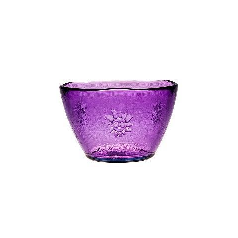 Чаша (7367DB21)Посуда<br>San Miguel (Испания) – это мощнейшая компания, которая занимается производством очень качественной и оригинальной продукции из переработанного стекла. Vidrios San Miguel известный бренд во всем мире. В наши дни, Vidrios San Miguel имеет более чем 25 000 торговых точек.  Vidrios San Miguel занимается производством стеклянных изделий: посуда, бутылки, вазы, сувениры, украшения и многое другое. Основной экспорт происходит в страны: западной и восточной Европы, Америки, Азии и Африки.<br><br>stock: 58<br>Материал: Стекло<br>Цвет: lavender<br>Диаметр: 14<br>Диаметр: 14
