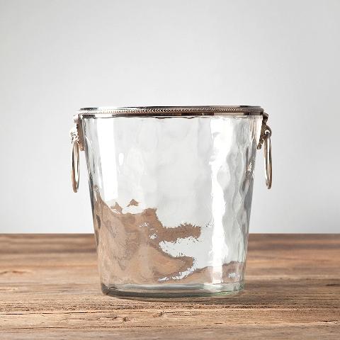 Ведро для льда (RO-11076/BKN)Посуда<br>Exstera<br><br>stock: 9<br>Высота: 20<br>Ширина: 20<br>Материал: металл, стекло<br>Цвет: chrom/clear<br>Длина: 20<br>Ширина: 20<br>Высота: 20<br>Длина: 20