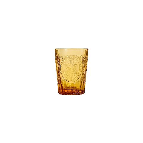 Стакан (ACN21/003079525006)Посуда<br>Фабрика VISTA ALEGRE с 1824 года изготавливает изделия из цветного стекла , смешивая песок и натуральные пигменты. Стеклянные изделия создают ручным способом путем заливания в пресс-формы жидкого стекла. Уникальные цвета и узоры на изделиях позволяют использовать их в любых интерьерных стилях, будь то Шебби шик, арт деко, богемный шик, винтаж или современный стиль.<br><br>stock: 188<br>Материал: Стекло<br>Цвет: Ambar 26A<br>Объем: 160<br>Объем: &lt;Объект не найден&gt; (51:94490025907a102b11e55de6e66f9628)