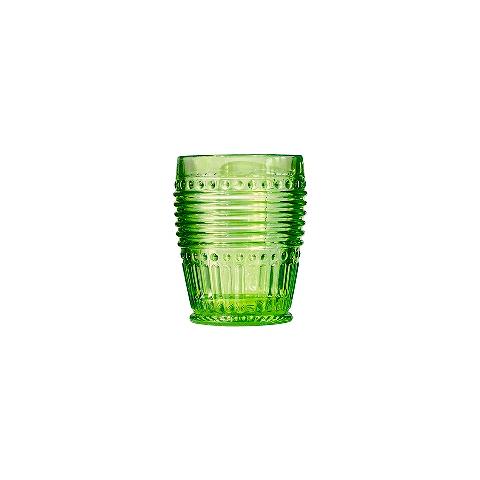 Стакан (ACN21/003161461006)Посуда<br>Фабрика VISTA ALEGRE с 1824 года изготавливает изделия из цветного стекла , смешивая песок и натуральные пигменты. Стеклянные изделия создают ручным способом путем заливания в пресс-формы жидкого стекла. Уникальные цвета и узоры на изделиях позволяют использовать их в любых интерьерных стилях, будь то Шебби шик, арт деко, богемный шик, винтаж или современный стиль.<br><br>stock: 269<br>Материал: Стекло<br>Цвет: Green<br>Объем: 330<br>Объем: &lt;Объект не найден&gt; (51:94490025907a102b11e55de44d08e3b2)