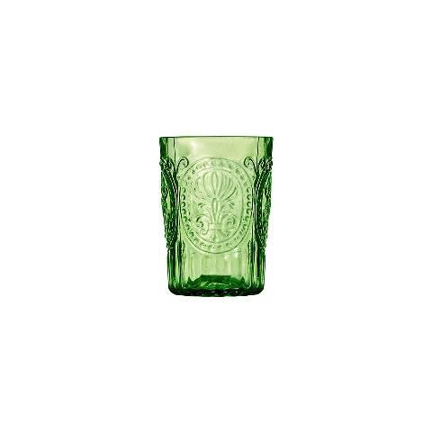 Стакан (ACN21/003079461006)Посуда<br>Фабрика VISTA ALEGRE с 1824 года изготавливает изделия из цветного стекла , смешивая песок и натуральные пигменты. Стеклянные изделия создают ручным способом путем заливания в пресс-формы жидкого стекла. Уникальные цвета и узоры на изделиях позволяют использовать их в любых интерьерных стилях, будь то Шебби шик, арт деко, богемный шик, винтаж или современный стиль.<br><br>stock: 123<br>Материал: Стекло<br>Цвет: Green<br>Объем: 210<br>Объем: &lt;Объект не найден&gt; (51:94490025907a102b11e55de454794235)