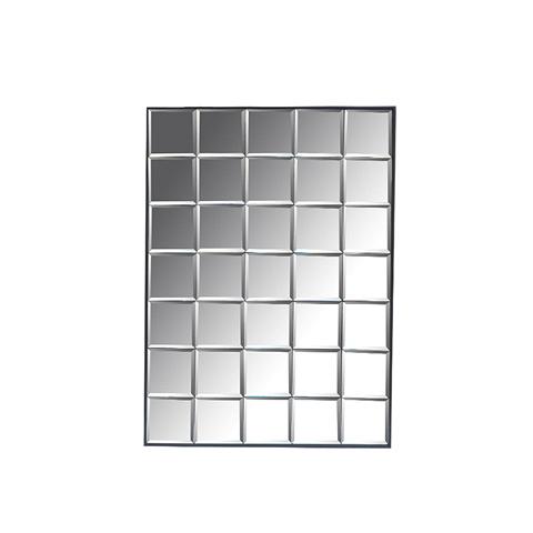 Зеркало Куб (DTR2128)Настенные<br>ROOMERS – это особенная коллекция, воплощение всего самого лучшего, модного и новаторского в мире дизайнерской мебели, предметов декора и стильных аксессуаров. Интерьерные решения от ROOMERS – всегда актуальны, более того, они - на острие моды. Коллекции ROOMERS тщательно отбираются и обновляются дважды в год специально для вас.<br><br>stock: 7<br>Высота: 91<br>Ширина: 5<br>Материал: металл, зеркало<br>Длина: 61<br>Ширина: 5<br>Высота: 91<br>Длина: 61