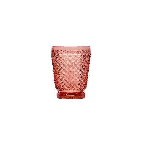 Стакан (ACN21/031573C33006)Посуда<br>Фабрика VISTA ALEGRE с 1824 года изготавливает изделия из цветного стекла , смешивая песок и натуральные пигменты. Стеклянные изделия создают ручным способом путем заливания в пресс-формы жидкого стекла. Уникальные цвета и узоры на изделиях позволяют использовать их в любых интерьерных стилях, будь то Шебби шик, арт деко, богемный шик, винтаж или современный стиль.<br><br>stock: 162<br>Материал: Стекло<br>Цвет: Pink<br>Объем: 200<br>Объем: &lt;Объект не найден&gt; (51:94490025907a102b11e55de44d08e39e)