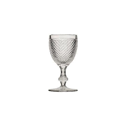 Бокал (ACN10/003043200006)Посуда<br>Фабрика VISTA ALEGRE с 1824 года изготавливает изделия из цветного стекла , смешивая песок и натуральные пигменты. Стеклянные изделия создают ручным способом путем заливания в пресс-формы жидкого стекла. Уникальные цвета и узоры на изделиях позволяют использовать их в любых интерьерных стилях, будь то Шебби шик, арт деко, богемный шик, винтаж или современный стиль.<br><br>stock: 196<br>Материал: Стекло<br>Цвет: Clear<br>Объем: 200<br>Объем: &lt;Объект не найден&gt; (51:94490025907a102b11e55de44d08e39e)