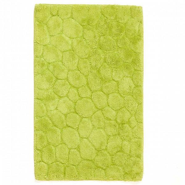 Ковер для ванной комнаты TiffnyДля ванной комнаты<br>Несомненно, как и любая другая комната в вашем доме, ванная тоже должна быть уютной, поскольку именно с нее начинается любой отличный день. Благодаря современному многообразию материалов ковры имеют различные формы, дизайн, цвет и тактильность. Однако значимое место по-прежнему занимают именно ковры из натуральных материалов. Хлопок — это отличный материал по свойствам впитываемости влаги и проводимости тепла.В<br><br><br><br> Ковер для ванной комнаты Tiffny — это лаконичный коврик, который сдел...<br><br>stock: 7<br>Ширина: 50<br>Материал: Хлопок<br>Цвет: Яблочный<br>Высота ворса: дл.=9-10мм,кор.=5-6мм<br>Длина: 80<br>Плотность ворса: 5000000стежков/м2<br>Состав основы: Противоскользящий каучук<br>Тип производства: Ручное производство