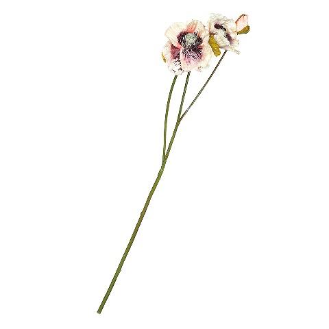 Мак (89069)Разное<br>SILK-KA - это известная Голландская компания, которая занимается производством искусственных цветов, фруктов и декоративных растений из шелка. Компания была создана благодаря безудержной страсти Patrick Oude Groeniger (директор и создатель SILK-KA) к цветам и фруктам. <br><br>Особое внимание создатель обратил на подлинное качество и безупречность искусственных цветов и фруктов. Всё создавалось с такой целью, чтобы трудно было отличить настоящее от искусственного. <br><br>Мастера компании активно работают...<br><br>stock: 1<br>Материал: Обработанная ткань, пластик<br>Цвет: Cream<br>Длина: 45