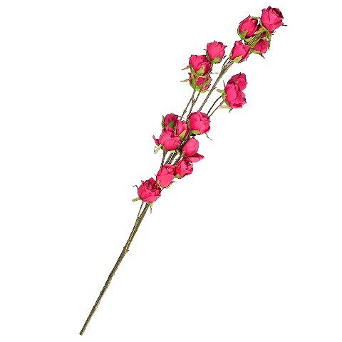Роза (96955)Разное<br>SILK-KA - это известная Голландская компания, которая занимается производством искусственных цветов, фруктов и декоративных растений из шелка. Компания была создана благодаря безудержной страсти Patrick Oude Groeniger (директор и создатель SILK-KA) к цветам и фруктам. <br><br>Особое внимание создатель обратил на подлинное качество и безупречность искусственных цветов и фруктов. Всё создавалось с такой целью, чтобы трудно было отличить настоящее от искусственного. <br><br>Мастера компании активно работают...<br><br>stock: 13<br>Материал: Обработанная ткань, пластик<br>Цвет: Pink<br>Длина: 104