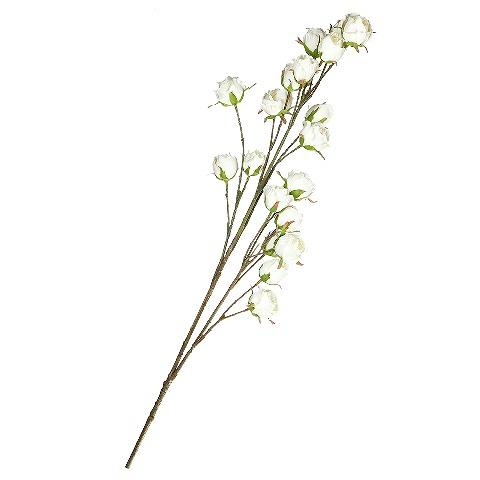 Роза (96951)Разное<br>SILK-KA - это известная Голландская компания, которая занимается производством искусственных цветов, фруктов и декоративных растений из шелка. Компания была создана благодаря безудержной страсти Patrick Oude Groeniger (директор и создатель SILK-KA) к цветам и фруктам. <br><br>Особое внимание создатель обратил на подлинное качество и безупречность искусственных цветов и фруктов. Всё создавалось с такой целью, чтобы трудно было отличить настоящее от искусственного. <br><br>Мастера компании активно работают...<br><br>stock: 5<br>Материал: Обработанная ткань, пластик<br>Цвет: White<br>Длина: 104