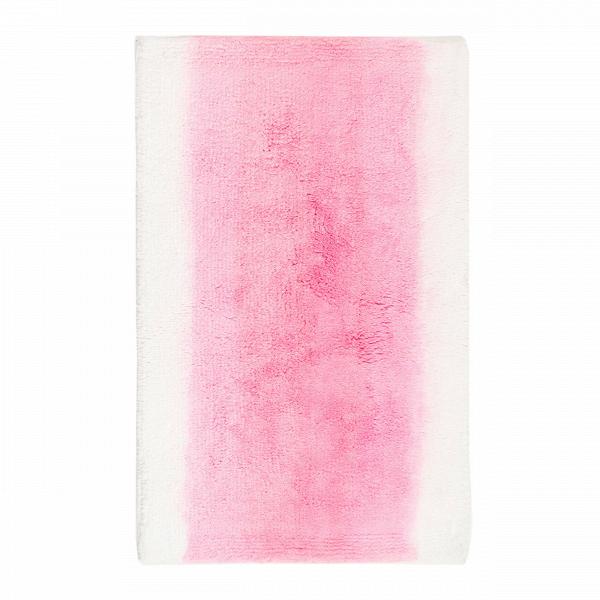 Ковер для ванной комнаты RialtoДля ванной комнаты<br>Ковер Rialto — отличный вариант напольного покрытия для ванной комнаты. Мягкий хлопковый ворс так приятен на ощупь, к тому же он очень теплый. Поэтому заботиться о тепле полов ванной комнаты вам не придется. Акварельный дизайн ковра непременно оживит интерьер. Он стильно смотрится в ванных комнатах как со стандартным белым кафелем, так и в ультрасовременных, декорированных яркими цветами.<br><br><br><br><br> Изделие максимально адаптировано для ванной с повышенным уровнем влажности. Благодаря проре...<br><br>stock: 9<br>Ширина: 50<br>Материал: Хлопок<br>Цвет: Белый+розовый/White+Pink<br>Высота ворса: 14-15мм<br>Длина: 80<br>Плотность ворса: 5000000стежков/м2<br>Состав основы: Противоскользящий каучук<br>Тип производства: Ручное производство