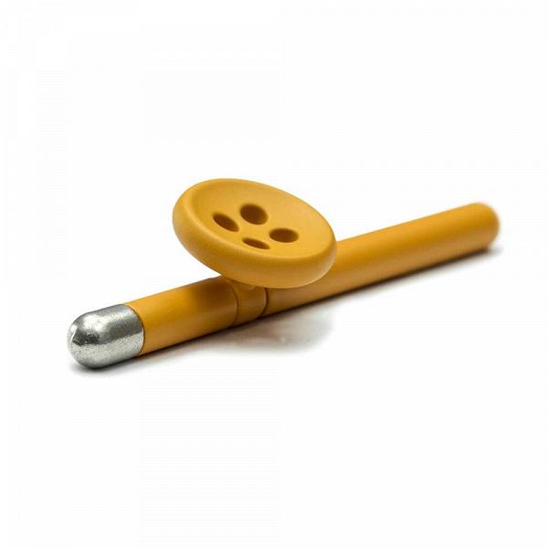 Вечный карандаш NAPKIN FOREVER BOUTONNIERE - ГорчичныйРазное<br><br><br>stock: 1<br>Материал: Металл<br>Цвет: Горчичный<br>Диаметр: 0,4<br>Длина: 6<br>Цвет дополнительный: Серебряный