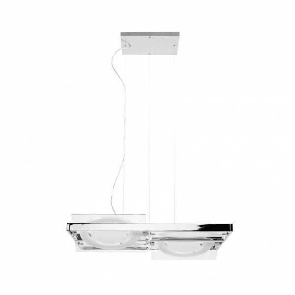 Подвесной светильник Movement 4 лампыПодвесные<br>Светильник Movement 4 лампы получил свое название благодаря четырем движущимся источникам света, которые могут менять свой уголВ— это иВхорошая возможность для фиксации нужной интенсивности освещения, иВнебольшая дизайнерская забава, помогающая оживить привычный предмет интерьера. <br> <br><br><br> Подвесной светильник Movement 4 лампы имеет название, которое переводится сВанглийского языка как «движение», иВэто действительно движениеВ— вперед, кВновым иВсм...<br><br>stock: 19<br>Высота: 91,3<br>Ширина: 120<br>Длина: 87,2<br>Количество ламп: 4<br>Материал абажура: Сталь<br>Мощность лампы: 40<br>Напряжение: 230<br>Тип лампы/цоколь: T5 circular<br>Цвет абажура: Хром