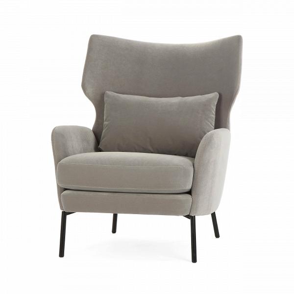 Кресло AlexИнтерьерные<br>Дизайнерское большое стильное кресло Alex (Алекс) из хлопка, льна, полиэстера от Sits (Ситс).<br><br><br> Утонченный вкус и минимум деталей — вот то, что отличает современный стиль в интерьере,Вчто придает ему интересный характер иВдарит большое количество пространства и свободы. Сегодня не только стиль и свободное пространство имеют значение в мебельной обстановке комнат, но и уровень качества и удобства используемой мебели. Представленное здесь кресло полностью отвечает этим требован...<br><br>stock: 0<br>Высота: 93<br>Высота сиденья: 43<br>Ширина: 79<br>Глубина: 93<br>Цвет ножек: Черный<br>Материал обивки: Полиэстер<br>Степень комфортности: Стандарт комфорт<br>Форма подлокотников: Стандарт<br>Коллекция ткани: Категория ткани III<br>Тип материала обивки: Вельвет<br>Тип материала ножек: Металл<br>Цвет обивки: Светло-серый