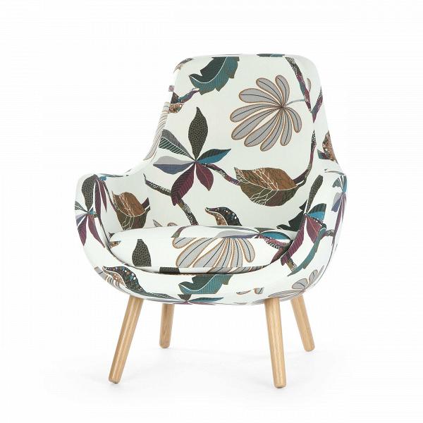 Кресло StefaniИнтерьерные<br>Дизайнерское яркое небольшое кресло Stefani (Стефани) на деревянных ножках от Sits (Ситс).<br><br>Нильс Гаммельгард — выдающийся датский дизайнер, сумевший найти свою нишу. Образованный и талантливый дизайнер вот уже 45 радует взыскательных любителей красивого интерьера. Как художнику ему удается создавать настоящие произведения искусства. Каждая его работа, предмет мебели, — это красивый и лаконичный дизайн,Видеально подходящий для интерьера в скандинавском стиле.<br> <br> Один из его соверше...<br><br>stock: 0<br>Высота: 85<br>Высота сиденья: 42<br>Ширина: 73<br>Глубина: 77<br>Цвет ножек: Дуб<br>Материал обивки: Хлопок, Лен<br>Степень комфортности: Стандарт комфорт<br>Форма подлокотников: Стандарт<br>Коллекция ткани: Exclusive<br>Тип материала обивки: Ткань<br>Тип материала ножек: Дерево<br>Цвет обивки: Белый с цветочным узором