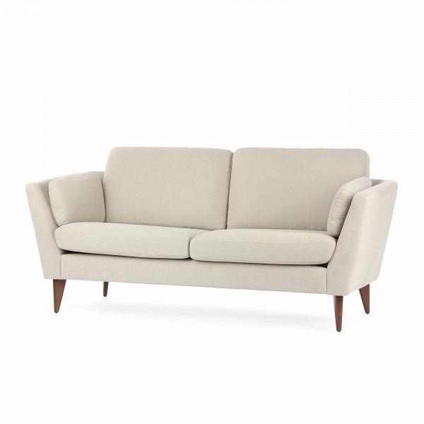 Диван Mynta ширина 180Двухместные<br>Дизайнерский двухместный светлый диван Mynta (Минта) ширина 180 классической формы от Sits (Ситс).<br><br><br> Комфорт и необычайное удобство дивана Mynta ширина 180 диктуется его приятной, элегантной формой простотой деталей. Диван, как и большая часть мебели известной компании Sits, обладает легкими шведскими чертами. Диван выполнен в изысканном классическом стиле и имеется в двух вариантах — темно-бежевом и бирюзовом.<br><br><br> Диван небольшого размера, что позволяет вам без особых усилий найти ...<br><br>stock: 0<br>Высота: 82<br>Высота сиденья: 46<br>Глубина: 87<br>Длина: 180<br>Цвет ножек: Орех<br>Материал обивки: Хлопок, Лен<br>Форма подлокотников: Стандарт<br>Коллекция ткани: Категория ткани II<br>Тип материала обивки: Ткань<br>Тип материала ножек: Дерево<br>Цвет обивки: Бежевый
