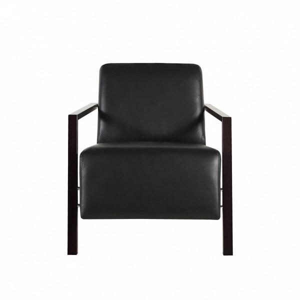 Кресло Foxi кожаноеИнтерьерные<br>Дизайнерское комфортное однотонное мягкое кресло Foxi (Фокси) с длинным сиденьем от Sits (Ситс).<br><br><br> Компания Sits, дизайнеры которой радуют нас необыкновенно удобной и элегантной мебелью со шведскими чертами, известна на весь мир своими интересными, уникальными разработками в области мягкой мебели. Представленное здесь кресло Foxi кожаное — яркий тому пример. Кресло напоминает собой небольшой шезлонг, на котором так и тянет отдохнуть в солнечный денек или почитать любимую книгу в дождли...<br><br>stock: 0<br>Высота: 77<br>Высота сиденья: 43<br>Ширина: 67<br>Глубина: 96<br>Цвет ножек: Черный<br>Степень комфортности: Стандарт комфорт<br>Коллекция ткани: Matrix Leather<br>Тип материала обивки: Кожа<br>Тип материала ножек: Дерево<br>Цвет обивки: Черный