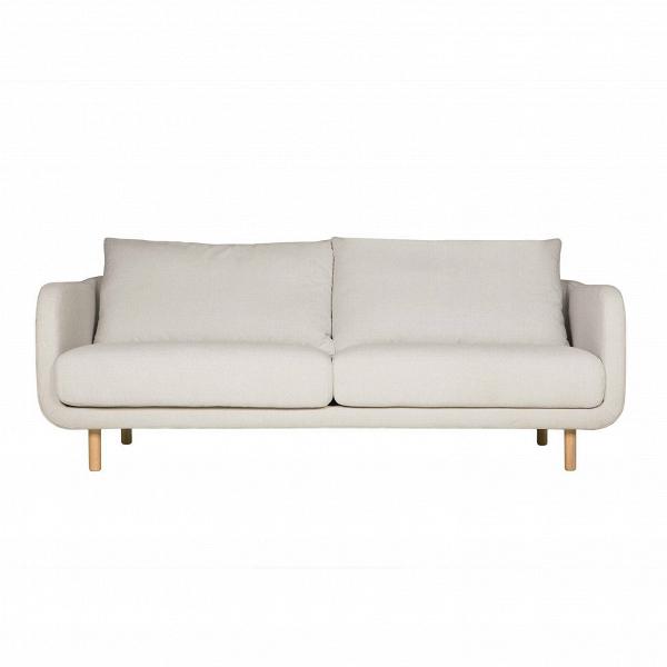 Диван  JennyДвухместные<br>Дизайнерский уютный светлый двухместный диван Jenny (Дженни) с ножками из дуба от Sits (Ситс)<br><br> Уютный и простой диван Jenny был создан ведущими западными дизайнерами специально для спокойных современных интерьеров, где ценится умиротворенная атмосфера, домашний комфорт и положительное настроение. Все это способна создать правильно подобранная мягкая мебель, и диван Jenny также отлично справится с этими задачами.<br><br><br> Чехол дивана изготовлен из приятной на ощупь, высококачественной тек...<br><br>stock: 0<br>Высота: 84<br>Высота сиденья: 46<br>Глубина: 99<br>Длина: 175<br>Цвет ножек: Беленый дуб<br>Материал обивки: Полиэстер<br>Степень комфортности: Стандарт комфорт<br>Форма подлокотников: Стандарт<br>Коллекция ткани: Категория ткани III<br>Тип материала обивки: Ткань<br>Тип материала ножек: Дерево<br>Цвет обивки: Светло-бежевый