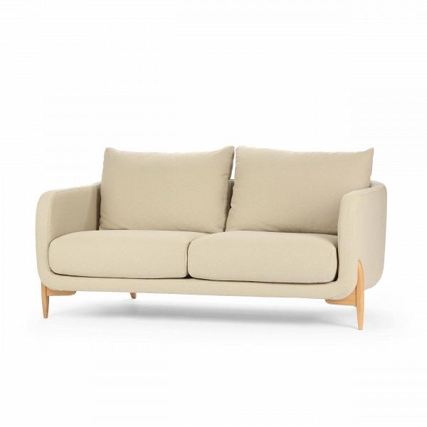 Диван  JennyДвухместные<br>Дизайнерский уютный светлый двухместный диван Jenny (Дженни) с ножками из дуба от Sits (Ситс)<br><br> Уютный и простой диван Jenny был создан ведущими западными дизайнерами специально для спокойных современных интерьеров, где ценится умиротворенная атмосфера, домашний комфорт и положительное настроение. Все это способна создать правильно подобранная мягкая мебель, и диван Jenny также отлично справится с этими задачами.<br><br><br> Чехол дивана изготовлен из приятной на ощупь, высококачественной тек...<br><br>stock: 0<br>Высота: 84<br>Высота сиденья: 46<br>Глубина: 99<br>Длина: 175<br>Цвет ножек: Дуб<br>Материал обивки: Хлопок, Полиэстер<br>Степень комфортности: Стандарт комфорт<br>Форма подлокотников: Стандарт<br>Коллекция ткани: Категория ткани III<br>Тип материала обивки: Ткань<br>Тип материала ножек: Дерево<br>Цвет обивки: Тёмно-бежевый