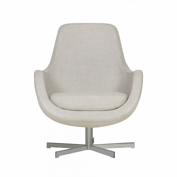 Кресло Stefani вращающеесяИнтерьерные<br>Нильс Гаммельгард — выдающийся датский дизайнер, сумевший найти свою нишу. Образованный и талантливый дизайнер вот уже 45 радует взыскательных любителей красивого интерьера. Как художнику ему удается создавать настоящие произведения искусства. Каждая его работа, предмет мебели, — это красивый и лаконичный дизайн,Видеально подходящий для интерьера в скандинавском стиле.<br> <br> Один из его совершенных продуктовВ— кресло Stefani вращающееся. Эта выполненная в нескольких оттенках модель п...<br><br>stock: 0<br>Высота: 87<br>Высота сиденья: 41<br>Ширина: 73<br>Глубина: 75<br>Цвет ножек: Серебро<br>Материал обивки: Полипропилен, Полиэстер, Хлопок<br>Степень комфортности: Стандарт комфорт<br>Форма подлокотников: Стандарт<br>Коллекция ткани: Категория ткани III<br>Тип материала обивки: Ткань<br>Тип материала ножек: Металл<br>Цвет обивки: Светло-серый