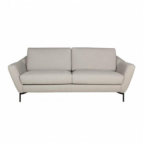 Диван  AgdaДвухместные<br>Элегантный дизайнерский диван Agda представляет собой современную разработку ведущих проектировщиков мебельной компании Sits. Модель является стильным олицетворением шведской школы дизайна. Оформление дивана Agda воплощает собой уют и тепло домашнего очага, благодаря чему он будет великолепно смотреться в любой комнате и создаст в ней приветливую, позитивную атмосферу.<br><br><br> Хотя изделие больше напоминает классику, в нем присутствуют также черты наиболее современных стилей – это тонкие выс...<br><br>stock: 0<br>Высота: 84<br>Высота сиденья: 48<br>Глубина: 94<br>Длина: 199<br>Цвет ножек: Черный<br>Материал обивки: Вискоза, Хлопок, Лен, Полиамид<br>Форма подлокотников: Стандарт<br>Коллекция ткани: Категория ткани IV<br>Тип материала обивки: Ткань<br>Тип материала ножек: Металл<br>Цвет обивки: Тёмно-бежевый