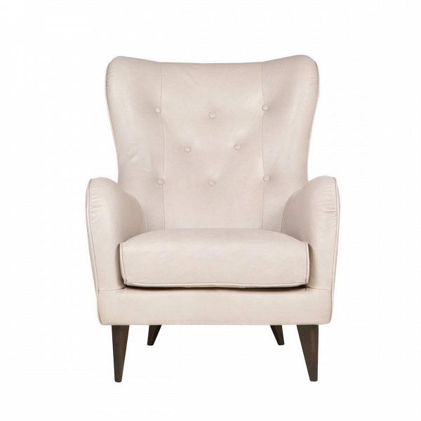 Кресло Pola кожаноеИнтерьерные<br>Дизайнеры компании Sits, чья мебель имеет выраженные шведские черты, не перестает радовать новыми моделями мягкой мебели. Изящные и невероятно удобные формы кресла Pola кожаное помогут вам расслабиться и отдохнуть даже в самый разгар трудового дня. <br><br><br> Кресло Pola кожаное оснащено высокими ножками, изготовленными из качественной прочной древесины. Pola имеет очень удобную анатомическую форму спинки и подлокотников, что позволяет вам смело использовать кресло в течение длительного време...<br><br>stock: 0<br>Высота: 102<br>Высота сиденья: 45<br>Ширина: 77<br>Глубина: 96<br>Цвет ножек: Темно-коричневый<br>Степень комфортности: Стандарт комфорт<br>Форма подлокотников: Стандарт<br>Коллекция ткани: Aniline Leather<br>Тип материала обивки: Кожа анилиновая<br>Тип материала ножек: Дерево<br>Цвет обивки: Кремово-белый
