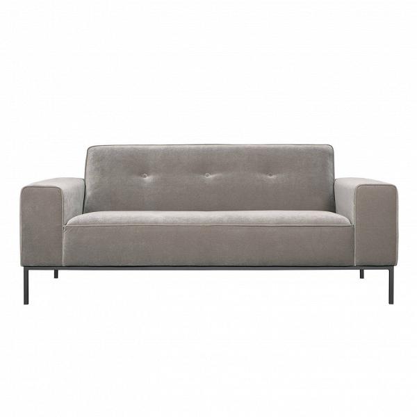 Диван Ville с пуговицамиДвухместные<br>Простой и изысканный диван Ville с пуговицами — это отличное решение для создания стильного и комфортного интерьера не только дома, но и в общественном месте. Данное дизайнерское изделие обладает всеми качествами, необходимыми для этих целей: чтобы не отвлекать внимание, отсутствуют излишние детали и элементы декора, лаконичная спокойная цветовая гамма способствует психологическому расслаблению, а форма дивана поможет вам расслабиться и отдохнуть.<br><br><br> Диван Ville с пуговицами имеет очен...<br><br>stock: 0<br>Высота: 77<br>Высота сиденья: 43<br>Глубина: 93<br>Длина: 184<br>Цвет ножек: Серый<br>Материал обивки: Полиэстер<br>Степень комфортности: Стандарт комфорт<br>Форма подлокотников: Стандарт<br>Коллекция ткани: Категория ткани III<br>Тип материала обивки: Ткань<br>Тип материала ножек: Металл<br>Цвет обивки: Светло-серый