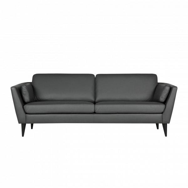 Диван Mynta кожаныйТрехместные<br>Дизайнерский диван Mynta кожаный — это великолепный образец ультрасовременного направления в дизайнерском искусстве. Данное изделие сочетает в себе черты стилей лофт, хай-тек и любимой многими классики. Такой диван не перетянет на себя все интерьерные акценты, а лишь дополнит общую обстановку и станет ее гармоничной и функциональной частью.<br><br><br> Обивка данного изделия изготовлена из высококачественной анилиновой кожи — этот материал используется в создании элитной мебели и дорогих элеме...<br><br>stock: 0<br>Высота: 84<br>Высота сиденья: 46<br>Глубина: 87<br>Длина: 220<br>Цвет ножек: Черный<br>Степень комфортности: Стандарт комфорт<br>Форма подлокотников: Стандарт<br>Коллекция ткани: Oasi Leather<br>Тип материала обивки: Кожа<br>Тип материала ножек: Дерево<br>Цвет обивки: Темно-серый