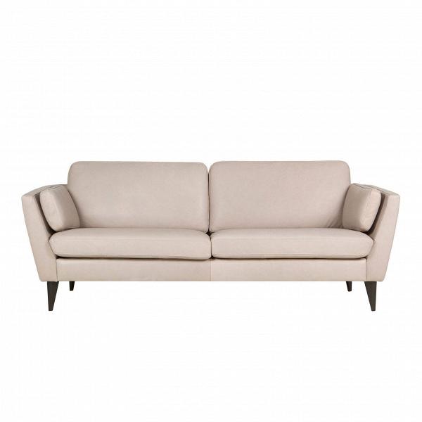Диван Mynta кожаныйТрехместные<br>Дизайнерский диван Mynta кожаный — это великолепный образец ультрасовременного направления в дизайнерском искусстве. Данное изделие сочетает в себе черты стилей лофт, хай-тек и любимой многими классики. Такой диван не перетянет на себя все интерьерные акценты, а лишь дополнит общую обстановку и станет ее гармоничной и функциональной частью.<br><br><br> Обивка данного изделия изготовлена из высококачественной анилиновой кожи — этот материал используется в создании элитной мебели и дорогих элеме...<br><br>stock: 0<br>Высота: 84<br>Высота сиденья: 46<br>Глубина: 87<br>Длина: 220<br>Цвет ножек: Темно-коричневый<br>Степень комфортности: Стандарт комфорт<br>Форма подлокотников: Стандарт<br>Коллекция ткани: Aniline Leather<br>Тип материала обивки: Кожа анилиновая<br>Тип материала ножек: Дерево<br>Цвет обивки: Бежевый