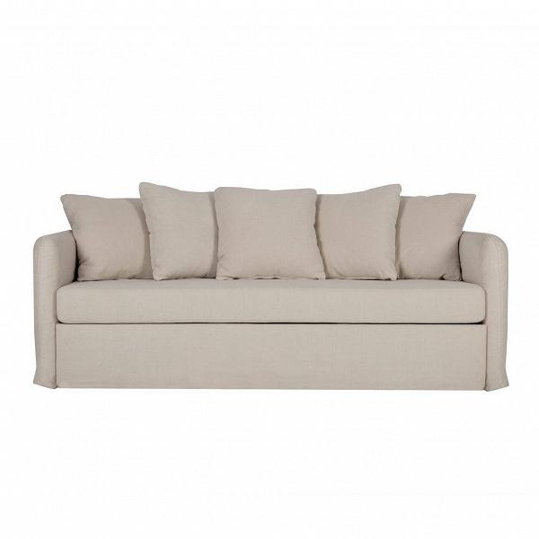 Диван LottaРаскладные<br>Простое, но необычайно милое и очаровательное изделие, этот диван может преобразить любое помещение и привнести в него нотку тепла и домашнего уюта. Диван Lotta оснащен множеством мягких пузатых подушек, которые делают его еще более приветливым, а общую атмосферу — более дружелюбной. Диван обладает мягкими, плавными чертами и формой, имеет небольшие размеры, что особенно подойдет для небольших комнат.<br><br><br> Обивка изделия изготовлена из высококачественной, износостойкой и очень приятной ...<br><br>stock: 0<br>Высота: 90<br>Высота сиденья: 47<br>Глубина: 100<br>Длина: 210<br>Материал обивки: Хлопок, Лен<br>Степень комфортности: Стандарт комфорт<br>Коллекция ткани: Категория ткани II<br>Тип материала обивки: Ткань<br>Цвет обивки: Бежевый