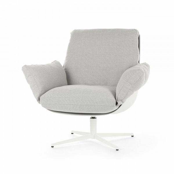 Кресло SoftbirdИнтерьерные<br>Дизайнерское кресло Softbird сделано просто и со вкусом. Оно отличается отсутствием лишних деталей и элементов декора, спокойной цветовой гаммой и необычайно уютной, мягкой и комфортной формой. Все линии кресла очень мягкие и плавные, спинка словно перетекает в удобное сиденье и широкие подлокотники. Кресло имеет очень глубокое сиденье, что способствует полному расслаблению и замечательному отдыху.<br><br><br> Обивка кресла отличается своей мягкостью — она изготовлена из приятной на ощупь проч...<br><br>stock: 1<br>Высота: 87<br>Высота сиденья: 46<br>Ширина: 73<br>Глубина: 86<br>Цвет ножек: Белый<br>Механизмы: Поворотная функция<br>Материал обивки: Полипропилен, Полиэстер, Хлопок<br>Тип материала каркаса: Стеклопластик<br>Коллекция ткани: Категория ткани III<br>Тип материала обивки: Ткань<br>Тип материала ножек: Сталь<br>Цвет обивки: Светло-серый<br>Цвет каркаса: Белый