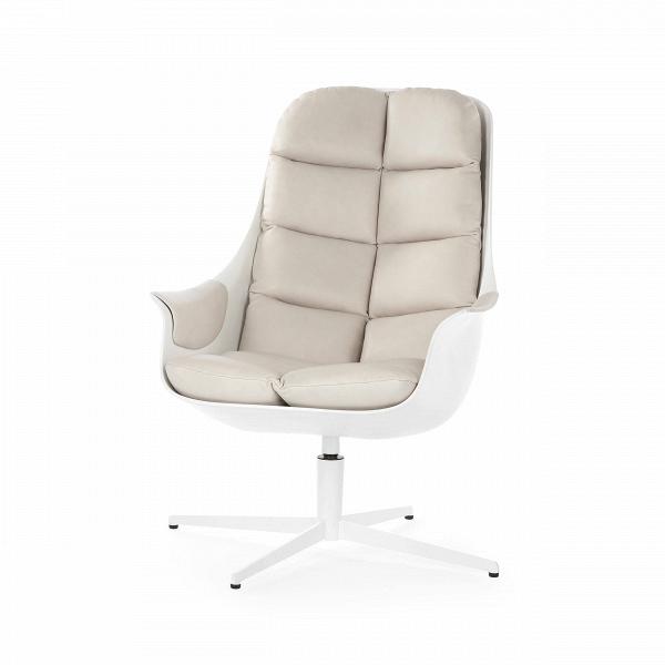 Кресло MybirdИнтерьерные<br>Если вы ищете красивое кресло, которое обладает еще и такими ценными качествами, как комфортность и удобство, то вам непременно понравится данное изделие. Кресло Mybird — это великолепное дизайнерское изделие, изготовленное из материалов наивысшего качества. Кресло обладает очень удобной формой и легким наклоном, что позволяет максимально расслабиться в нем и насладиться полноценным отдыхом. Обивка кресла украшена привлекательной строчкой.<br><br><br> Для большего удобства и функциональности, ...<br><br>stock: 2<br>Высота: 93<br>Высота сиденья: 42<br>Ширина: 66<br>Глубина: 88<br>Цвет ножек: Белый<br>Механизмы: Поворотная функция<br>Тип материала каркаса: Стеклопластик<br>Коллекция ткани: Aniline Leather<br>Тип материала обивки: Кожа анилиновая<br>Тип материала ножек: Сталь<br>Цвет обивки: Бежевый<br>Цвет каркаса: Белый