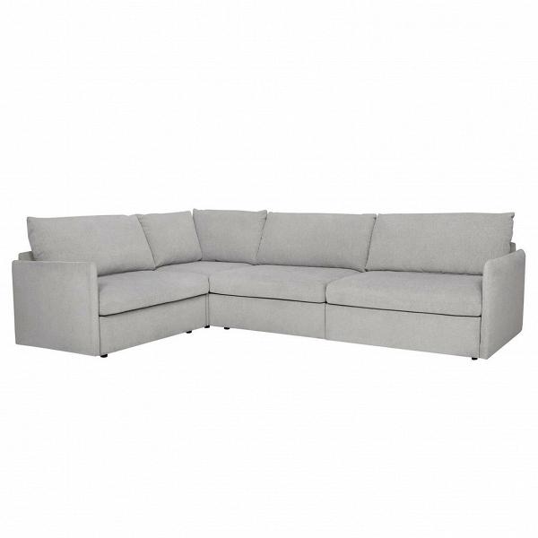Угловой диван SmartРаскладные<br>Дизайнерский угловой диван Smart обладает строгой формой, четкими линиями и спокойной цветовой гаммой. Именно такими качествами должна обладать мягкая домашняя мебель, выполненная в классическом стиле. Диван имеет большие габариты, благодаря чему на нем с удобством может расположиться вся семья или ваши гости.<br><br><br> Угловой диван Smart оборудован удобным раскладным механизмом, благодаря чему вы получаете два в одном: комфортное место для вечернего отдыха и прекрасное место для полноценног...<br><br>stock: 0<br>Высота: 85<br>Высота сиденья: 45<br>Глубина: 158<br>Длина: 295<br>Цвет ножек: Черный<br>Механизмы: Раскладной<br>Материал обивки: Полиэстер<br>Тип материала обивки: Ткань<br>Тип материала ножек: Пластик<br>Цвет обивки: Светло-серый