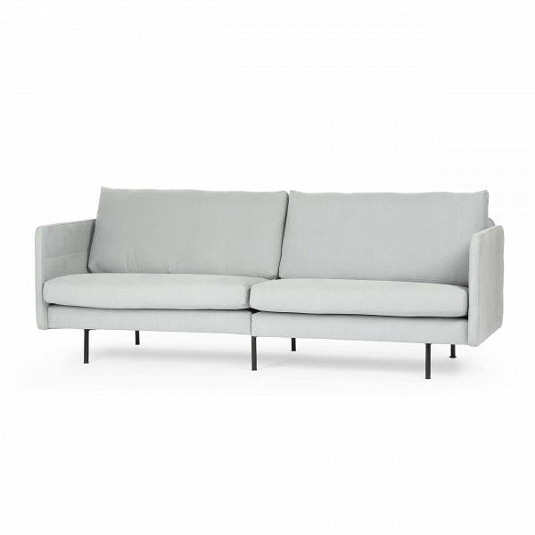 Диван ChicТрехместные<br>Простой и уютный дизайнерский диван Chic особенно понравится любителям спокойной атмосферы и умеренных цветовых решений в создании домашней обстановки. Отсутствие лишних деталей и других ярких акцентов подчеркивает строгий и элегантный стиль этого изделия, делая его ценным дополнением в помещениях, оформленных в стиле лофт, модерн, минимализм, хай-тек и некоторых других.<br><br><br> Тканевая обивка дивана обладает приятной на ощупь поверхностью. Благодаря светло-серому цвету изделие не перегру...<br><br>stock: 0<br>Высота: 78<br>Высота сиденья: 41<br>Глубина: 85<br>Длина: 208<br>Цвет ножек: Черный<br>Материал обивки: Хлопок, Лен<br>Коллекция ткани: Категория ткани II<br>Тип материала обивки: Ткань<br>Тип материала ножек: Металл<br>Цвет обивки: Светло-серый