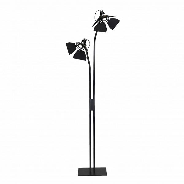 Напольный светильник RibaltaНапольные<br>Напольный светильник Ribalta — творение современного итальянского дизайнера Гвидо Вролы. Обычно он занимается освещением театров, концертных залов, кинотеатров и просто больших помещений.<br><br><br> Если вы хотите почувствовать себя суперзвездой, купите себе напольный светильник Ribalta. Он выполнен в форме софитов — что может быть приятней, чем каждый день проводить в их свете? Так можно почувствовать себя героем популярного сериала или, наоборот, режиссером.<br><br><br> Светильник создаст неповто...<br><br>stock: 0<br>Высота: 170<br>Ширина: 60<br>Количество ламп: 2<br>Материал абажура: Металл<br>Материал арматуры: Сталь<br>Ламп в комплекте: Нет<br>Цвет абажура: Черный матовый<br>Цвет арматуры: Черный матовый