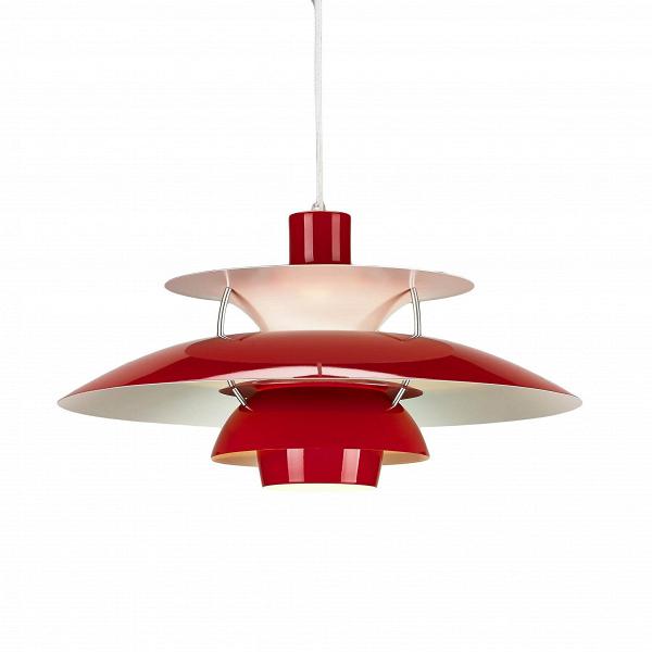 Подвесной светильник PH 50Подвесные<br>Подвесной светильник PH 50 — это одна из самых известных моделей светильников, созданных знаменитым скандинавским дизайнером Поулем Хеннингсеном. Главные принципы, которыми руководствовался мастер при создании своих творений, заключаются в том, что освещение должно быть ярким, но мягким и приятным глазу. Светильники дизайнера дают спокойный, яркий и равномерный свет, который выгодно подчеркивает интерьер и создает в нем приятную дружелюбную атмосферу.<br><br><br> Подвесной светильник PH 50 изгот...<br><br>stock: 0<br>Высота: 28<br>Диаметр: 50<br>Доп. цвет абажура: Белый<br>Материал абажура: Алюминий<br>Ламп в комплекте: Нет<br>Цвет абажура: Красный<br>Цвет провода: Белый<br>Дизайнер: Poul Henningsen