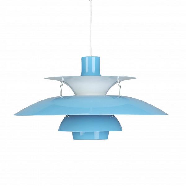 Подвесной светильник PH 50Подвесные<br>Подвесной светильник PH 50 — это одна из самых известных моделей светильников, созданных знаменитым скандинавским дизайнером Поулем Хеннингсеном. Главные принципы, которыми руководствовался мастер при создании своих творений, заключаются в том, что освещение должно быть ярким, но мягким и приятным глазу. Светильники дизайнера дают спокойный, яркий и равномерный свет, который выгодно подчеркивает интерьер и создает в нем приятную дружелюбную атмосферу.<br><br><br> Подвесной светильник PH 50 изгот...<br><br>stock: 0<br>Высота: 28<br>Диаметр: 50<br>Доп. цвет абажура: Белый<br>Материал абажура: Алюминий<br>Ламп в комплекте: Нет<br>Цвет абажура: Голубой<br>Цвет провода: Белый<br>Дизайнер: Poul Henningsen