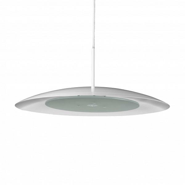 Подвесной светильник GinoПодвесные<br>Подвесной светильник Gino, спроектированный известным шведским дизайнером Хансом-Агне Якобссоном, способен покорить любого ценителя скандинавского направления в искусстве интерьерного дизайна. Работы Якобссона отличаются своеобразным внутренним свечением и экспрессией, которая выражается в интересном и оригинальном дизайне его работ.<br><br><br> Подвесной светильник Gino — один из ярчайших представителей творчества дизайнера, хотя он несколько отличается от большинства работ художника, известных...<br><br>stock: 0<br>Высота: 7<br>Диаметр: 52,5<br>Количество ламп: 1<br>Материал абажура: Алюминий<br>Материал арматуры: Сталь<br>Ламп в комплекте: Да<br>Тип лампы/цоколь: G9<br>Цвет абажура: Белый<br>Цвет арматуры: Белый<br>Цвет провода: Белый