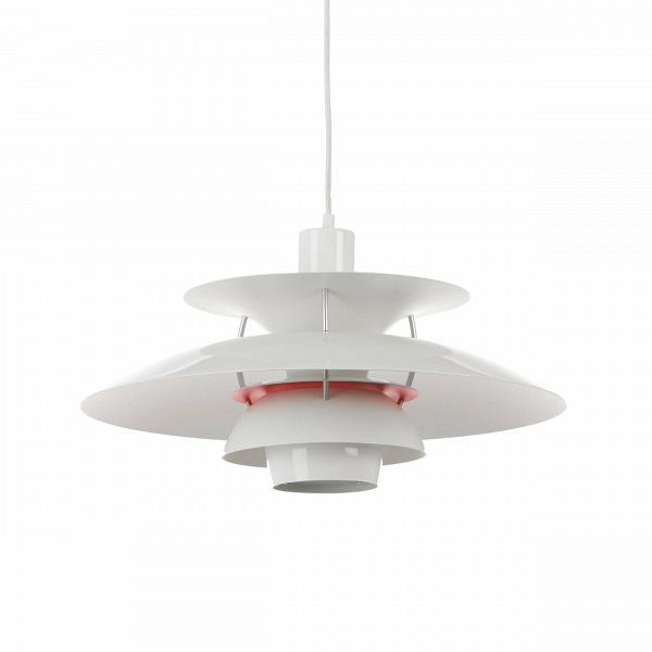 Подвесной светильник PH 50Подвесные<br>Подвесной светильник PH 50 — это одна из самых известных моделей светильников, созданных знаменитым скандинавским дизайнером Поулем Хеннингсеном. Главные принципы, которыми руководствовался мастер при создании своих творений, заключаются в том, что освещение должно быть ярким, но мягким и приятным глазу. Светильники дизайнера дают спокойный, яркий и равномерный свет, который выгодно подчеркивает интерьер и создает в нем приятную дружелюбную атмосферу.<br><br><br> Подвесной светильник PH 50 изгот...<br><br>stock: 0<br>Высота: 28<br>Диаметр: 50<br>Материал абажура: Алюминий<br>Ламп в комплекте: Нет<br>Цвет абажура: Белый<br>Цвет провода: Белый<br>Дизайнер: Poul Henningsen